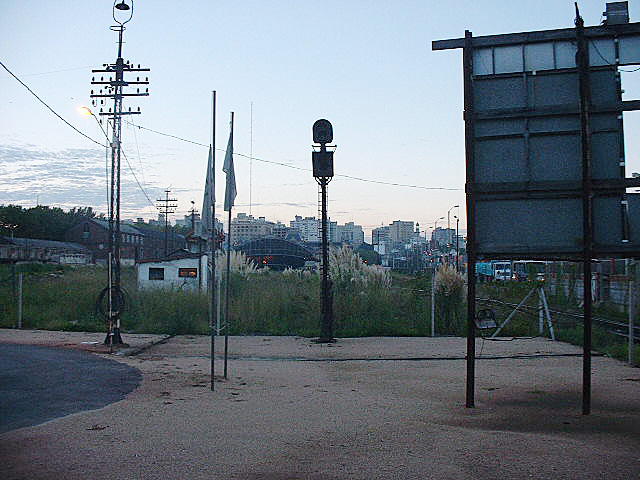 Central Station seen from the apeadero