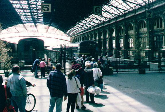 Un día cualquiera en la Estación Central