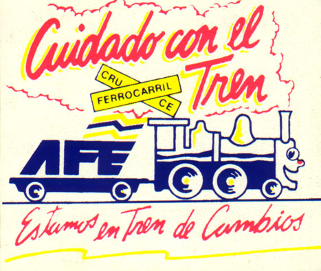 AUTOADHESIVO EMITIDO POR AFE EN 1993