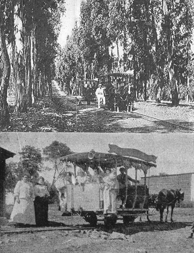 El tranvía de Giot unía la estación de ferrocarril de Colón con Lezica por Lanús hasta la llegada del tranvía eléctrico - Fotos gentileza Allen Morrison y archivo M. Benoit