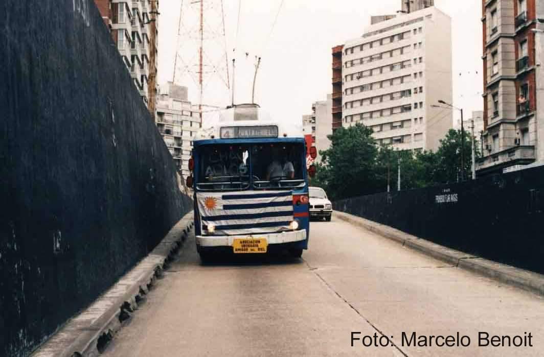 Trolebus 29 entrando al túnel - Ultimo dia